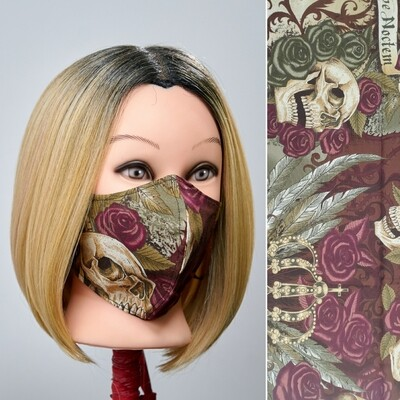 Printed Facemask - 100% Cotton -