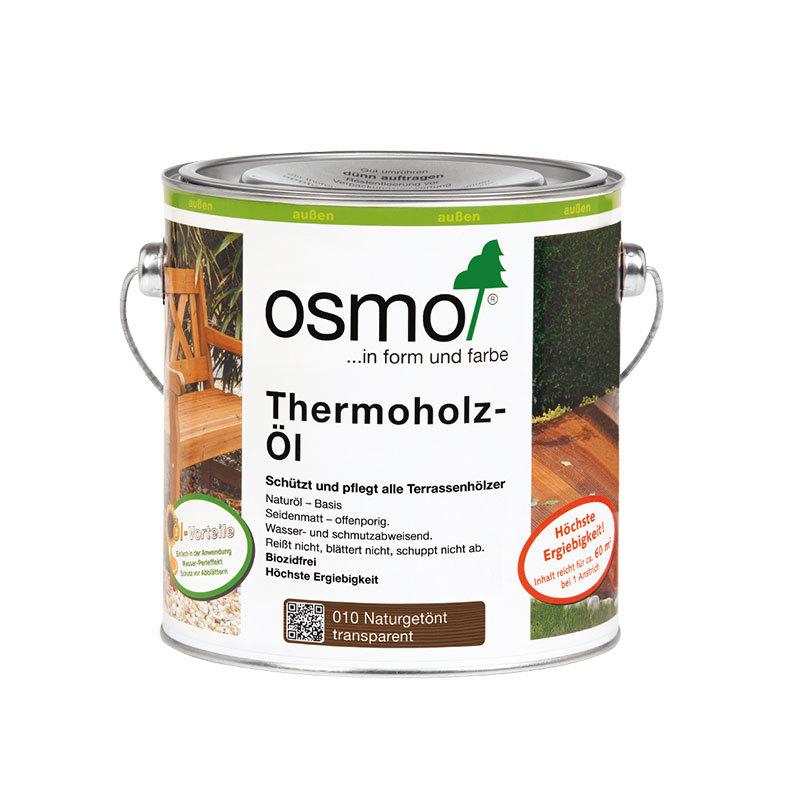OSMO Thermoholz-Öl 010 Naturgetönt, 2,5 L 207260059