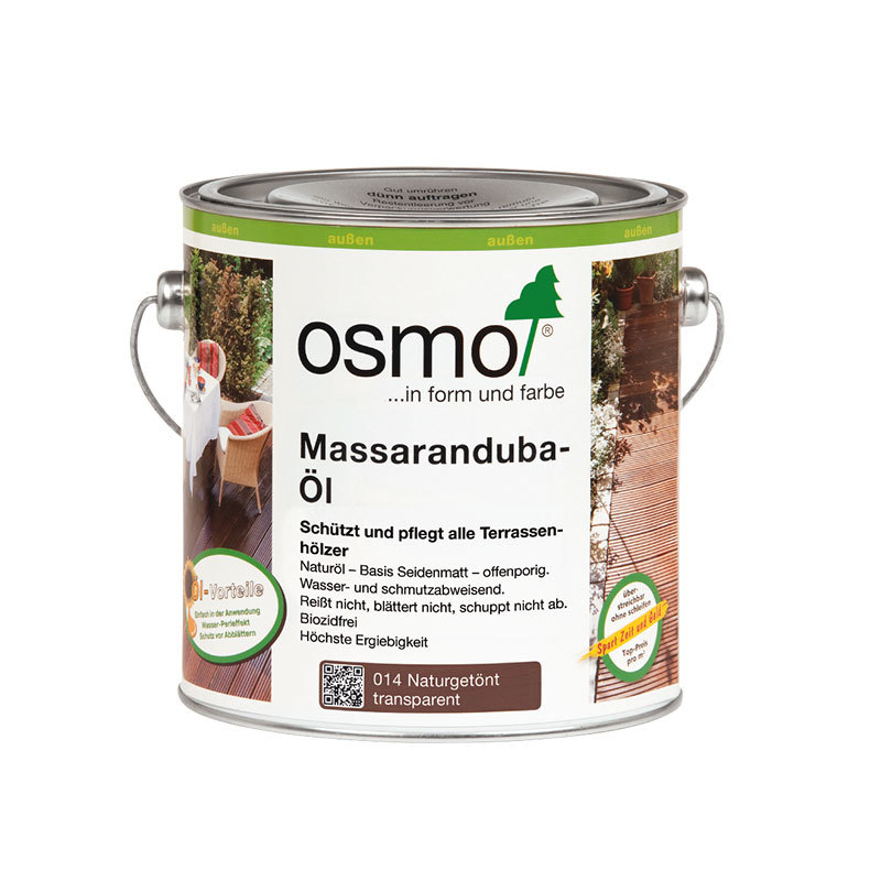 OSMO Massaranduba-Öl 014 Naturgetönt, 2,5 L 207260063