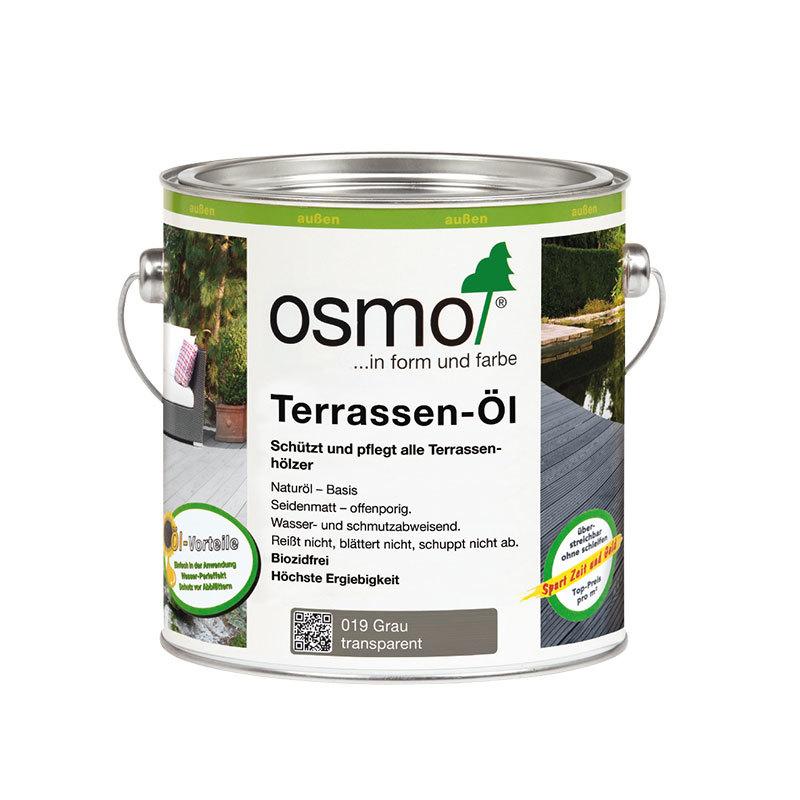 OSMO Terrassen-Öl 019 Grau, 2,5 L 207260006