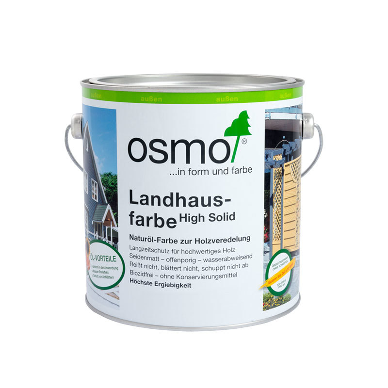 OSMO Landhausfarbe 2205 Sonnengelb, 2,5 L 207260025