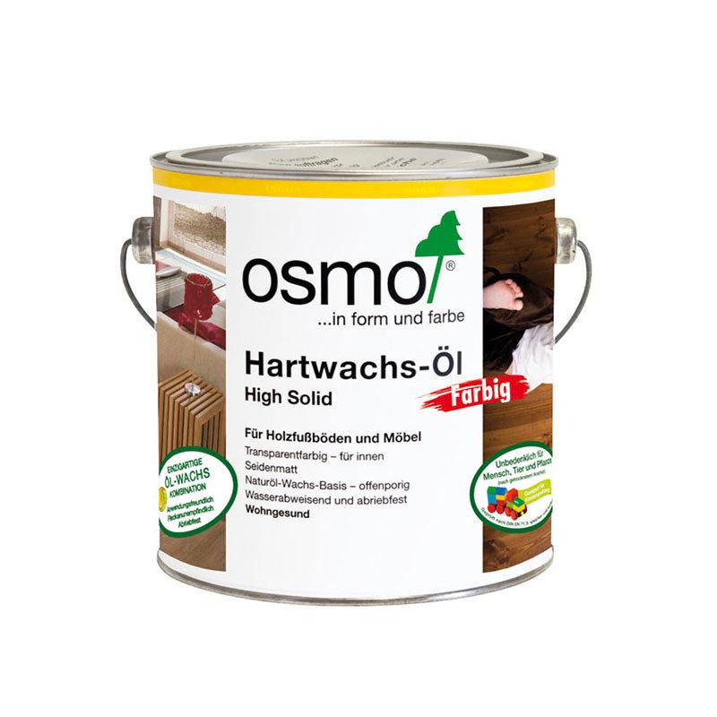 OSMO Hartwachs-Öl 3040 Weiß, 2,5 L 207260125