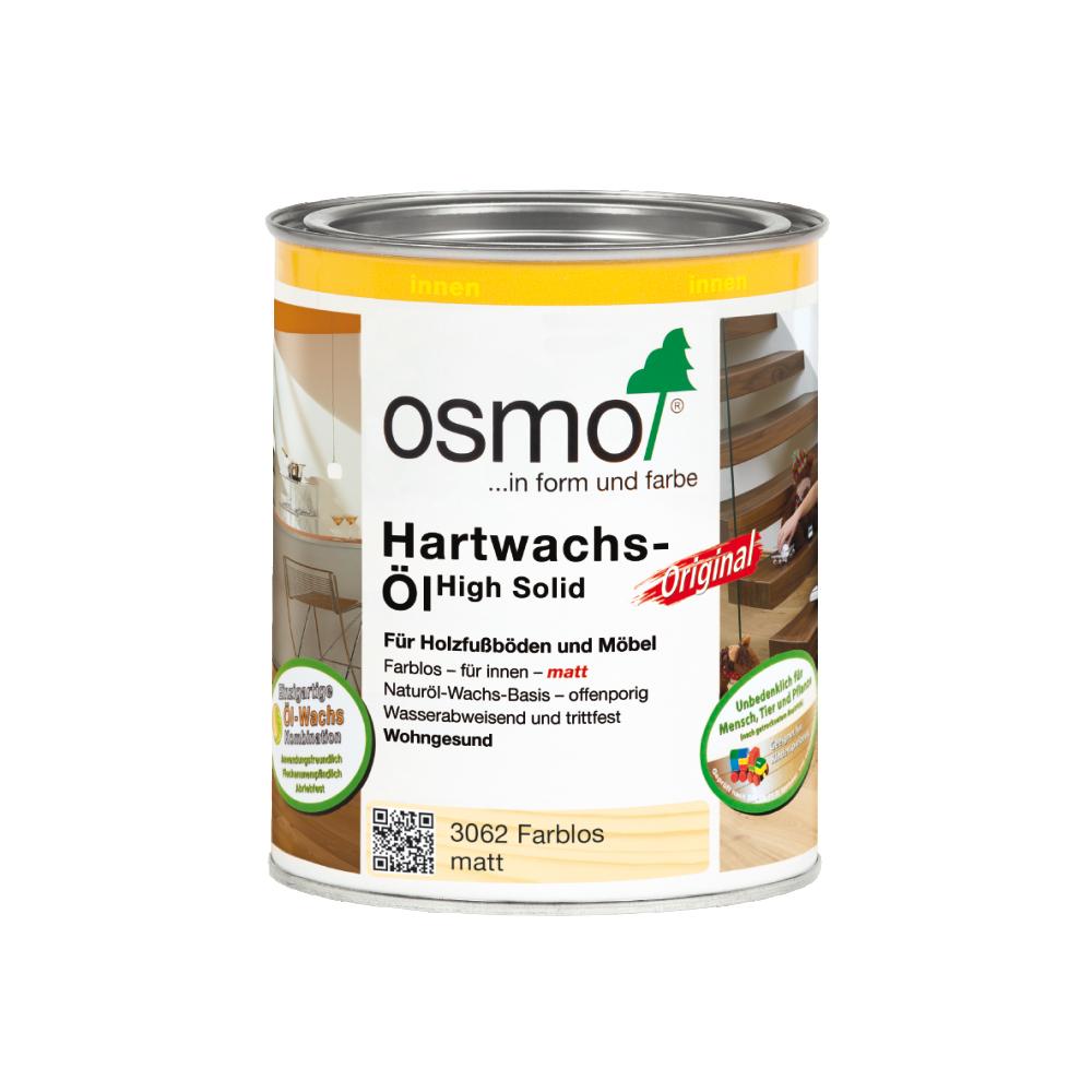 OSMO Hartwachs-Öl 3062 Farblos Matt, 750 ml 207260122