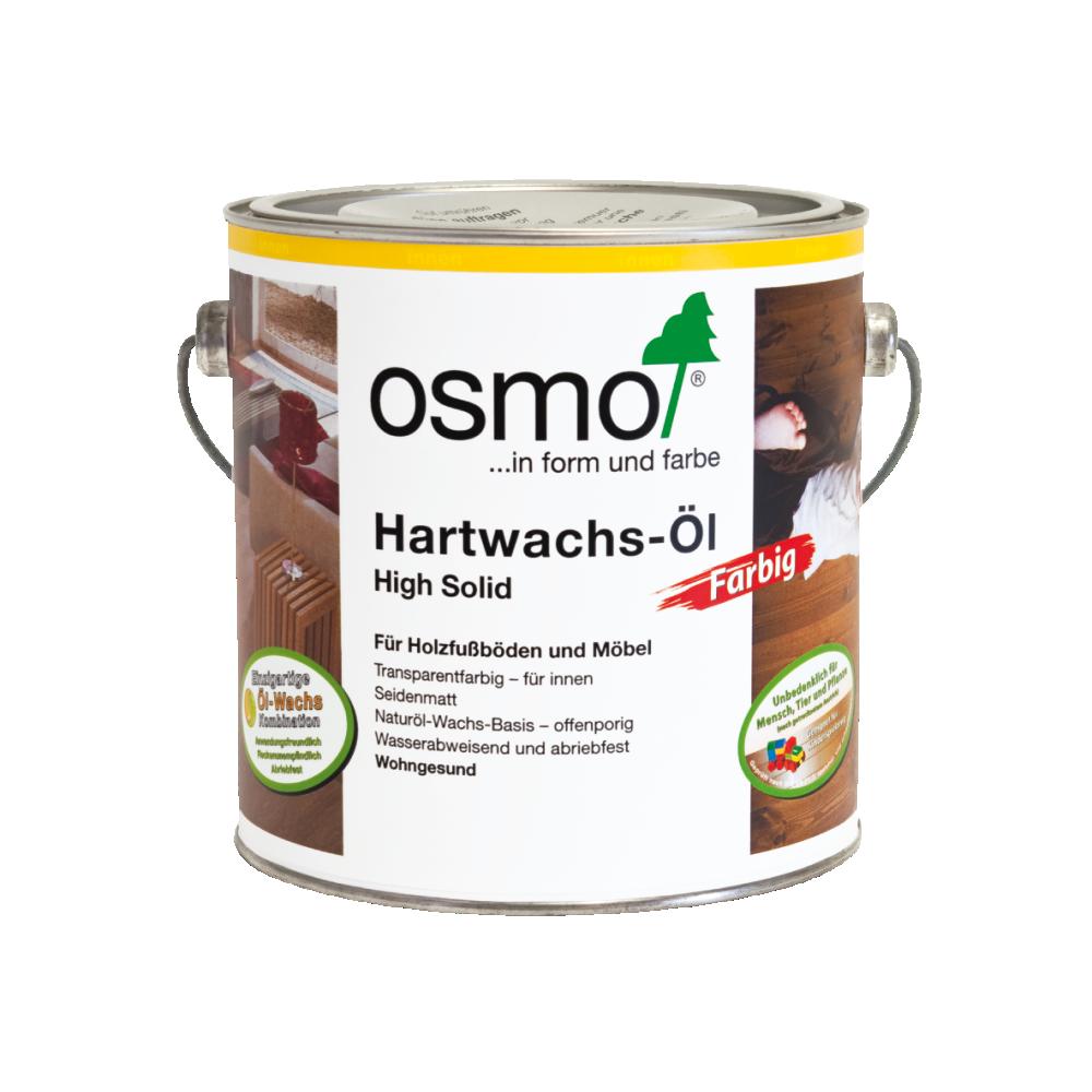 OSMO Hartwachs-Öl 3075 Schwarz, 2,5 L 207260133