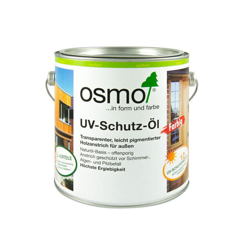 OSMO UV-Schutz-Öl 432 Eiche Hell Seidenmatt mit Filmschutz, 2,5 L 207260085