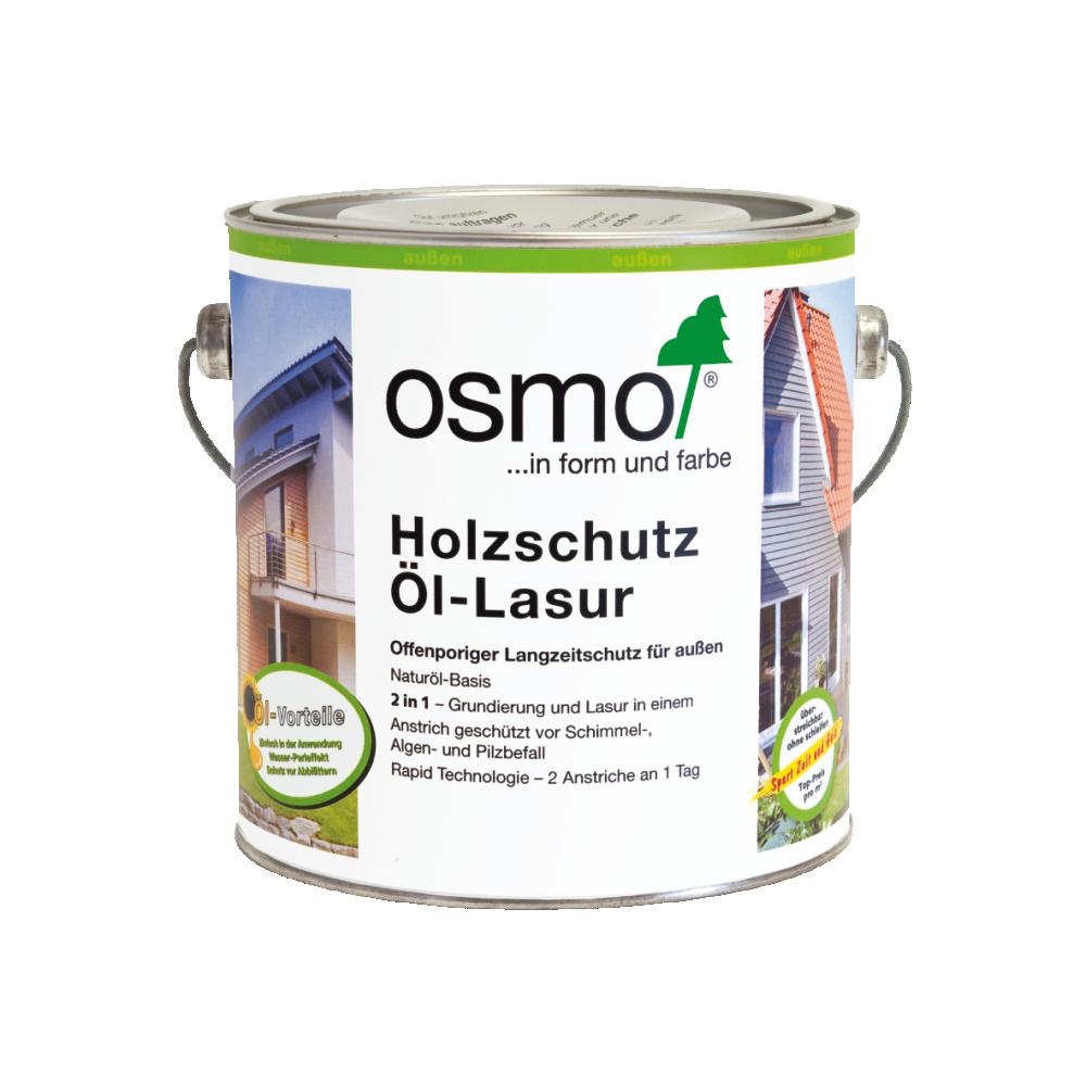 OSMO Holzschutz Öl-Lasur 712 Ebenholz, 2,5 L 207260101