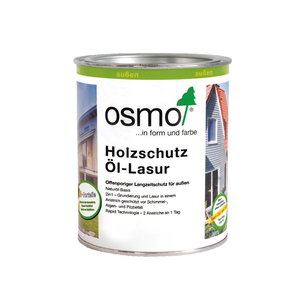 OSMO Holzschutz Öl-Lasur 903 Basaltgrau, 750 ml 207260112