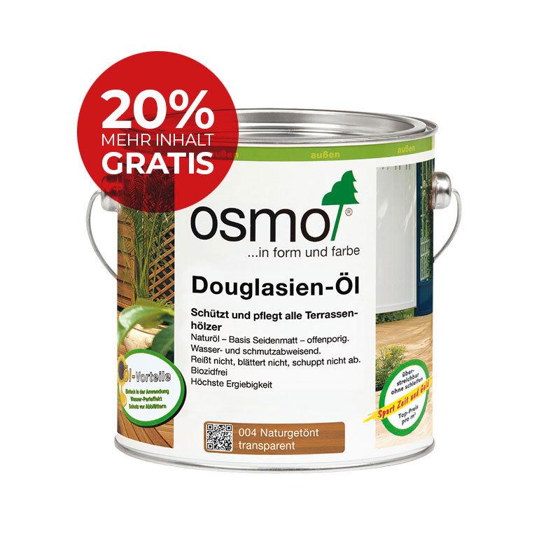 OSMO Douglasien-Öl 004 Naturgetönt, 3,0 L 207260017