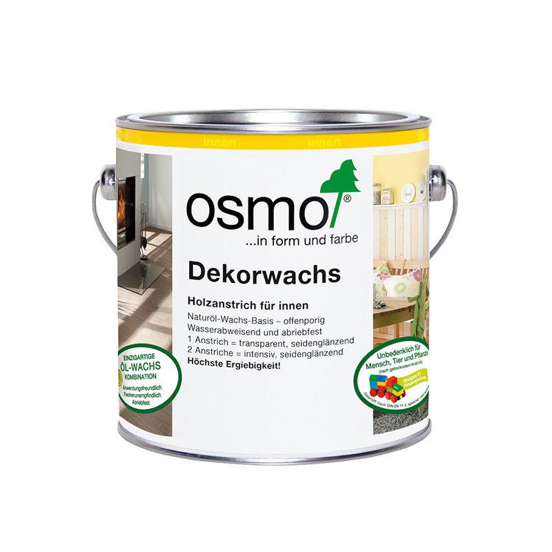 OSMO Dekorwachs 3186 Weiß Matt Intensiv, 2,5 L 207260493