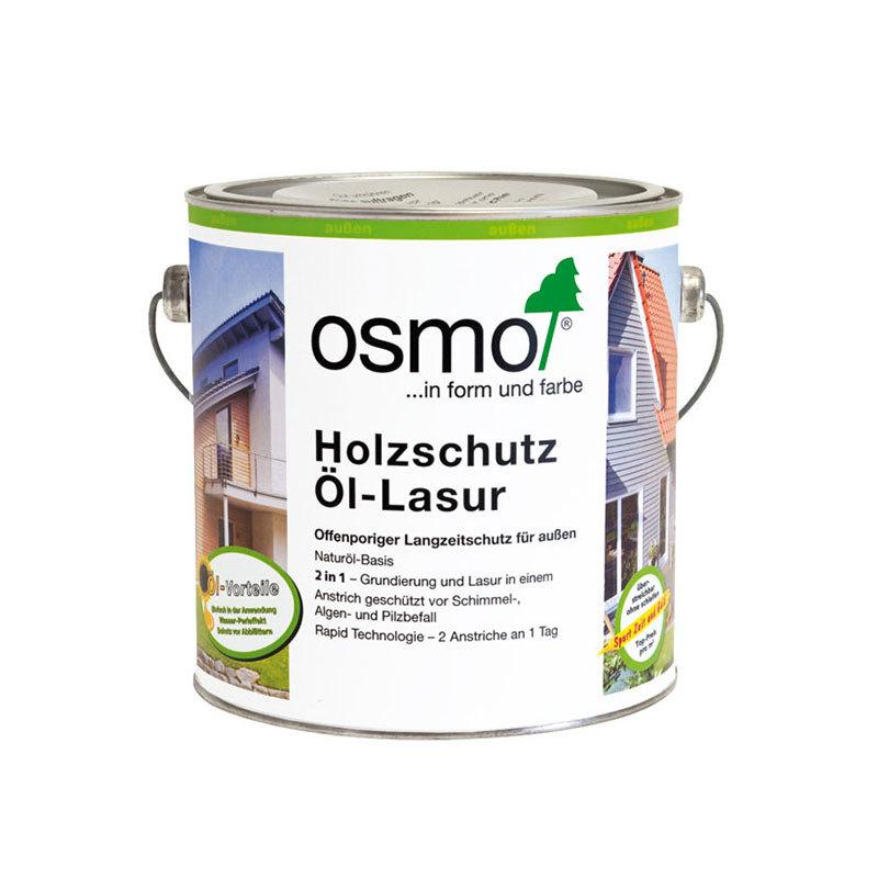 OSMO Holzschutz Öl-Lasur 729 Tannengrün, 2,5 L 207260507