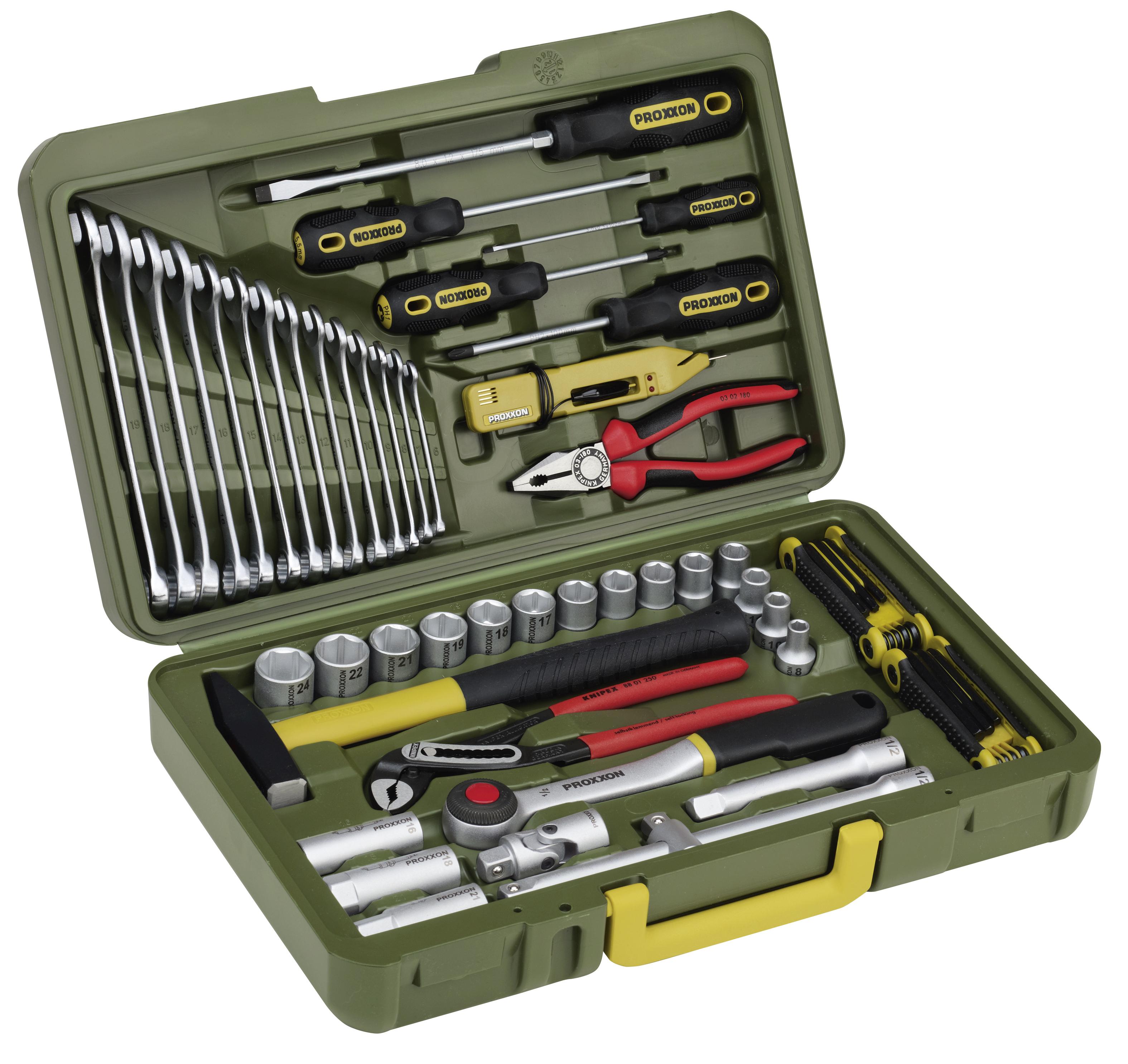PKW- und Universal-Werkzeugkoffer (47-teilig) 213520114
