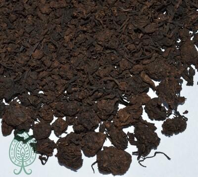 """ХэйЧа (черный постферментированный чай) """"Рубиновая Габа"""" 50 гр."""