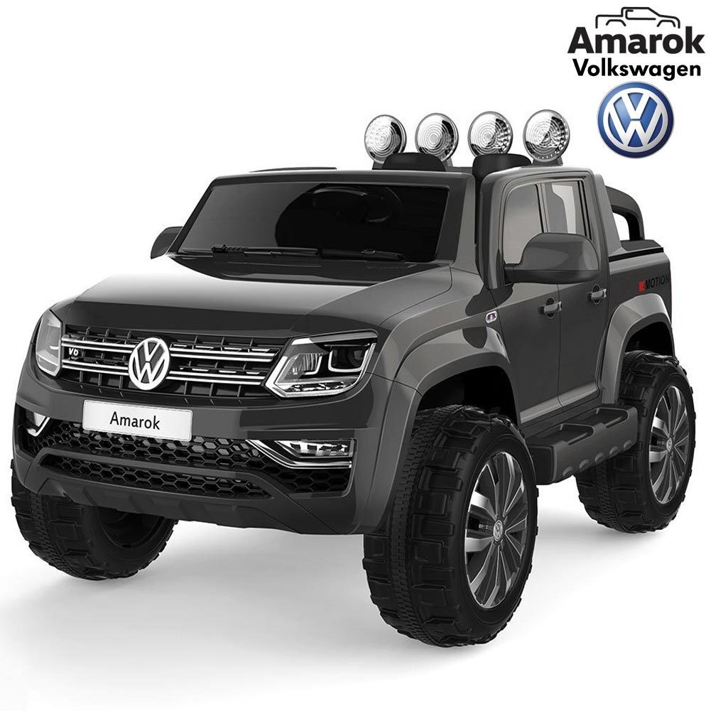 AUTO ELETTRICA PER BAMBINI Volkswagen Amarok Pickup 12v 2 POSTI 4X4 PRODOTTO UFFICIALE