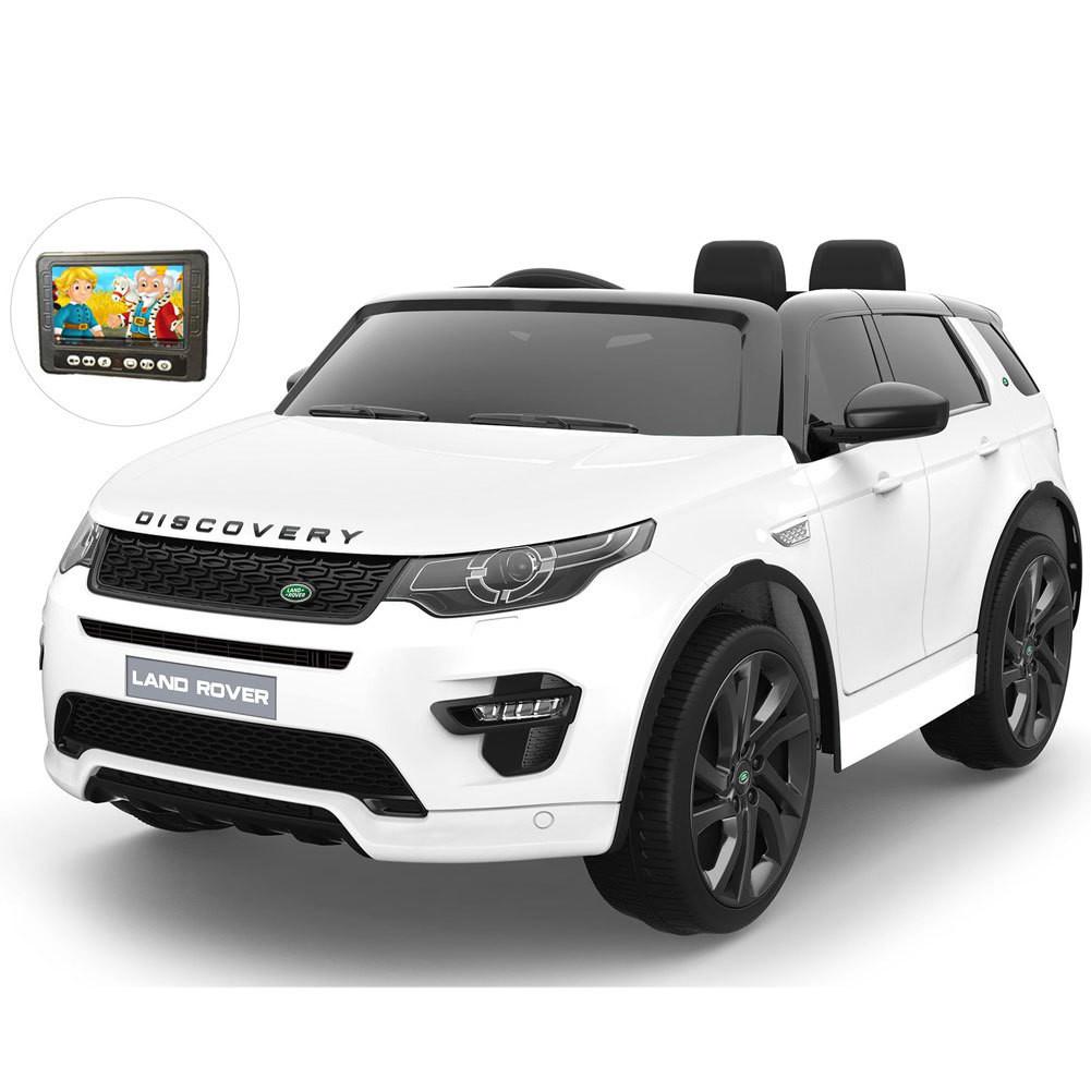 AUTO ELETTRICA PER BAMBINI Land Rover Discovery Sport 12v 2 POSTI CON TV TOUCH SCREEN PRODOTTO UFFICIALE