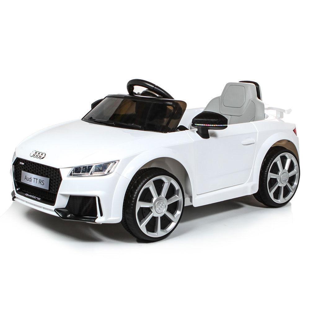AUTO MACCHINA ELETTRICA PER BAMBINI Audi TT RS 6v PRODOTTO UFFICIALE