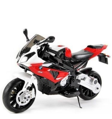 MOTO ELETTRICA PER BAMBINI Bmw SUPER SPORT S1000 RR 12v (Deluxe)  CON ROTELLE PRODOTTO UFFICIALE