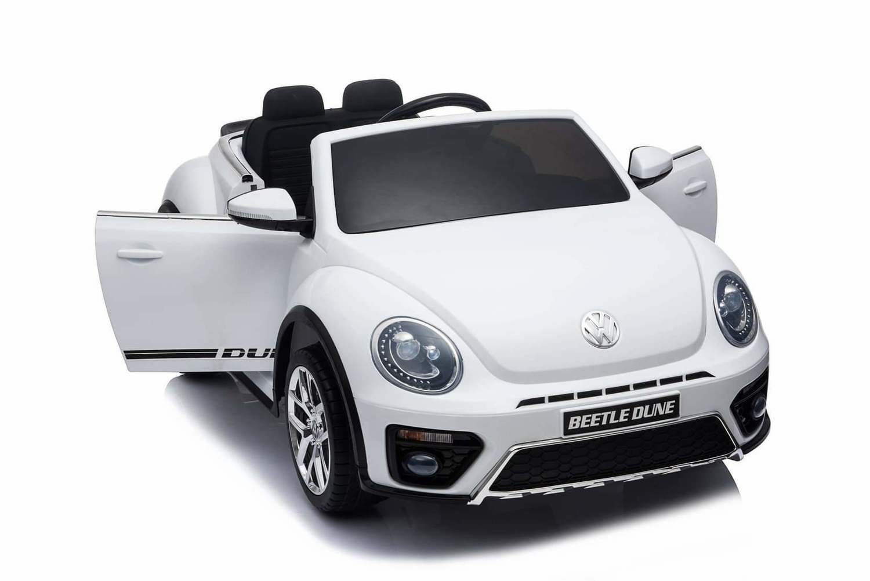 AUTO MACCHINA ELETTRICA PER BAMBINI Volkswagen Maggiolino New Beetle 12v PRODOTTO UFFICIALE