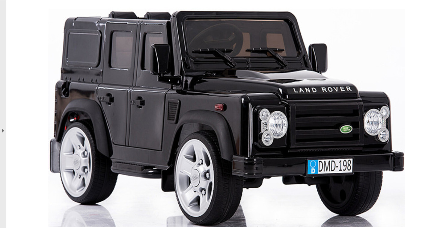 AUTO MACCHINA ELETTRICA PER BAMBINI Land Rover Defender 12v PRODOTTO UFFICIALE