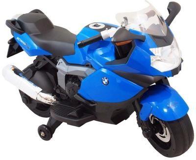 MOTO MOTOCICLETTA ELETTRICA PER BAMBINI Bmw K1300S 12v CON ROTELLE PRODOTTO UFFICIALE