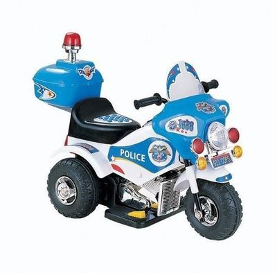 MOTO MOTOCICLETTA PER BAMBINI Police (POLIZIA) 6v