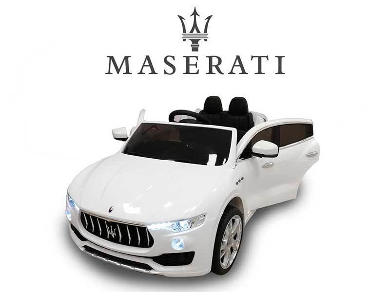 AUTO MACCHINA ELETTRICA PER BAMBINI Maserati Levante 12v PRODOTTO UFFICIALE