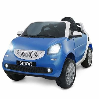 AUTO MACCHINA ELETTRICA PER BAMBINI Smart 12v PRODOTTO UFFICIALE