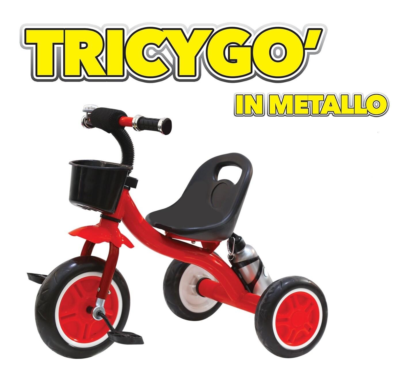 TRICICLO TricYgo' IN METALLO PER BAMBINI