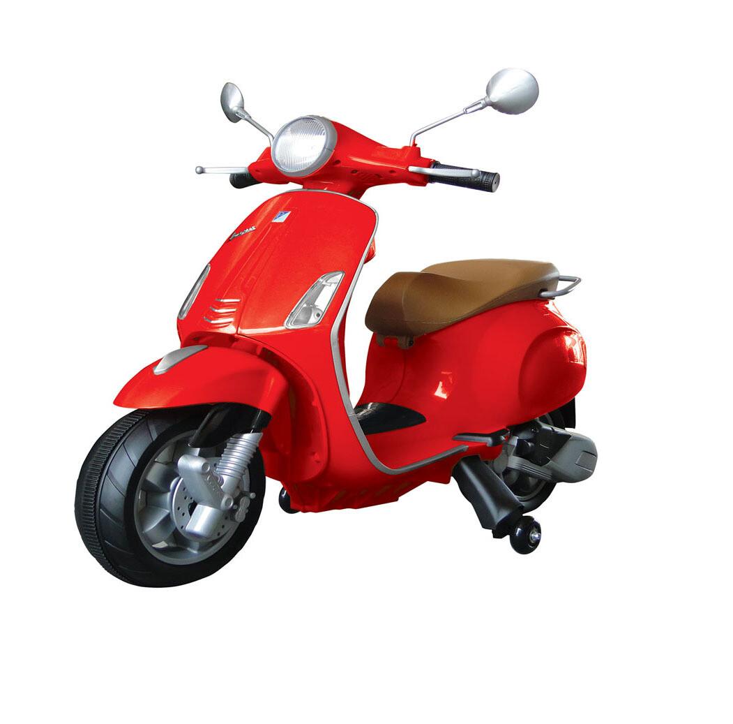 MOTO MOTOCICLETTA ELETTRICA PER BAMBINI Vespa Piaggio Primavera 12v PRODOTTO UFFICIALE