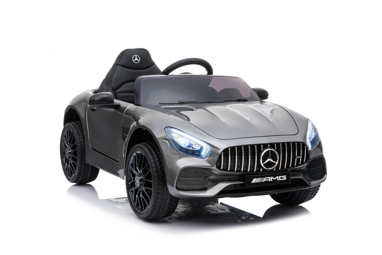 (ESCLUSIVA MANGIAFUOCOTOYS) (PROMOZIONE FINO AD ESAURIMENTO SCORTE) AUTO MACCHINA ELETTRICA PER BAMBINI Mercedes GT Amg CON VERNICE METALLIZZATA (NUOVO MODELLO) PRODOTTO UFFICIALE (Full Optional)