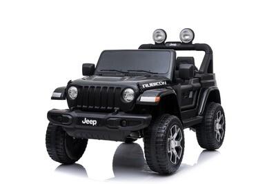 AUTO MACCHINA ELETTRICA PER BAMBINI Jeep Wrangler Rubicon 12v 2 posti CON TV TOUCH SCREEN PRODOTTO UFFICIALE