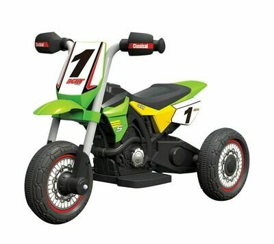MOTO MOTOCICLETTA ELETTRICA PER BAMBINI ENDURO 6v
