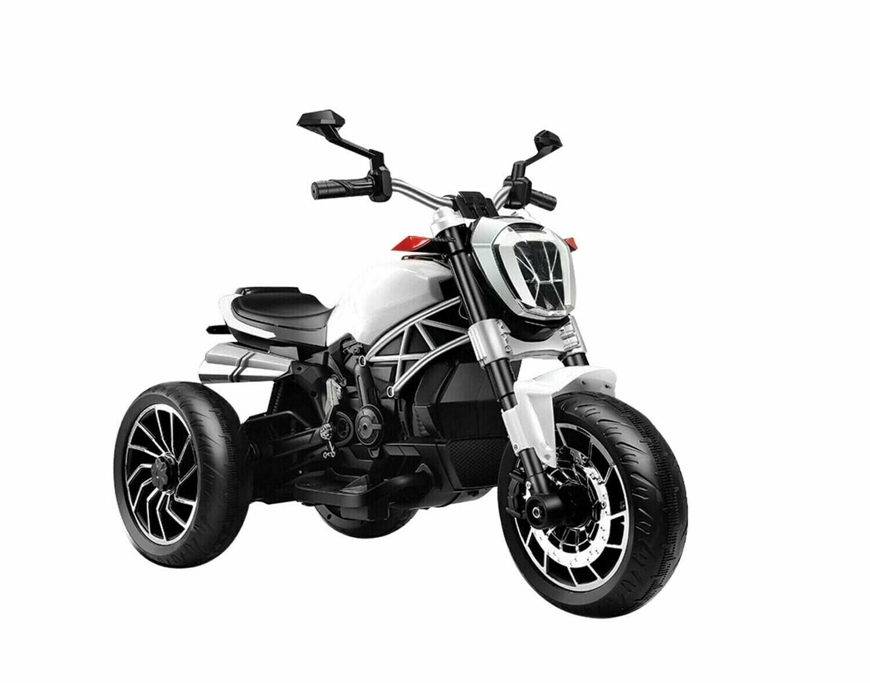 MOTO MOTOCICLETTA PER BAMBINI MODELLO DUCATI SPECIAL 6v 2 MOTORI
