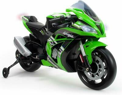 MOTO  MOTOCICLETTA ELETTRICA Kawasaki Ninja 12v PRODOTTO UFFICIALE
