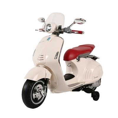 MOTO MOTOCICLETTA ELETTRICA PER BAMBINI VESPA 946 PRODOTTO UFFICIALE