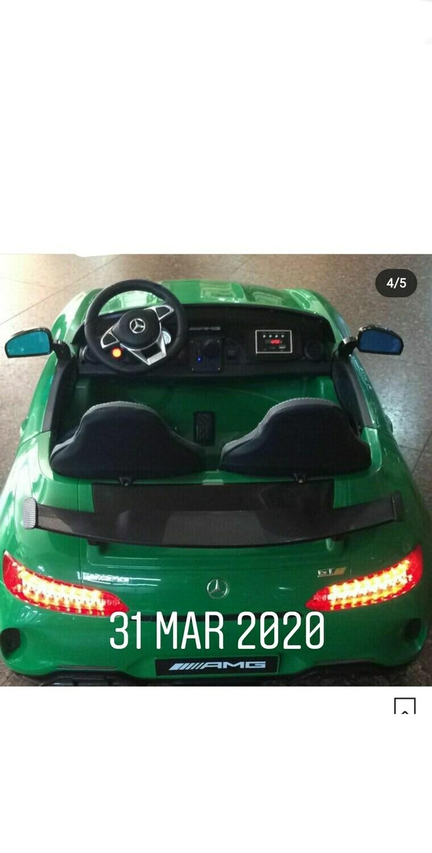 AUTO MACCHINA ELETTRICA PER BAMBINI Mercedes Benz Gtr 2 POSTI 24v 4x4 PRODOTTO UFFICIALE (PROMOZIONE FINO AL 15-06 )