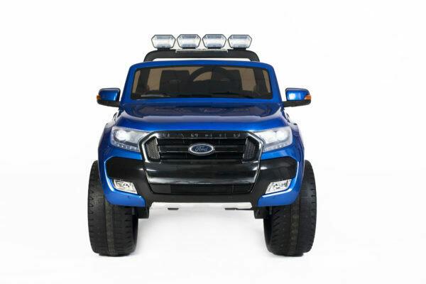 AUTO MACCHINA ELETTRICA PER BAMBINI Pickup Ford Ranger Luxury 12V 4x4 CON TV TOUCH SCREEN E VERNICE METALLIZZATA  2 posti PRODOTTO UFFICIALE (Full Optional)