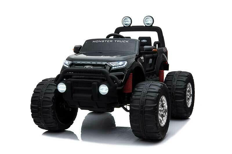 AUTO MACCHINA ELETTRICA PER BAMBINI Ford Monster Truck 24v 2 POSTI 4X4 PRODOTTO UFFICIALE