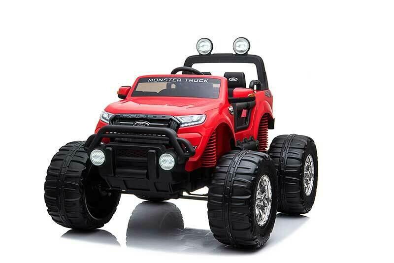 AUTO MACCHINA ELETTRICA PER BAMBINI Ford Monster Truck 24v 2 posti  4X4 con TV TOUCH SCREEN PRODOTTO UFFICIALE