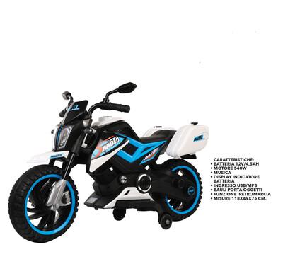 MOTO MOTOCICLETTA ELETTRICA PER BAMBINI Moto Adventure 12v