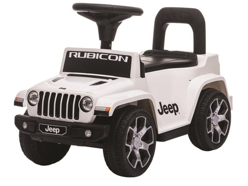 PRIMI PASSI CAVALCABILE Jeep Wrangler Rubicon PER BAMBINI