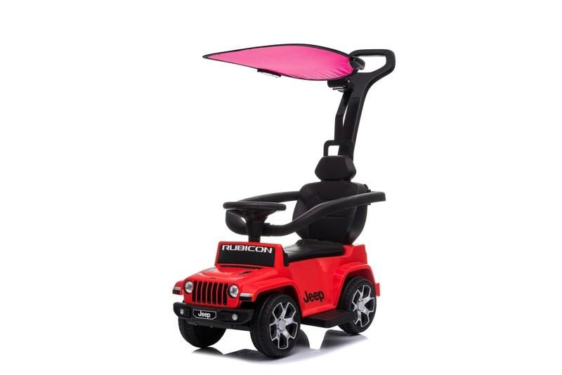 PRIMI PASSI CAVALCABILE Jeep Wrangler Rubicon CON PARASOLE