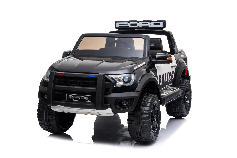 AUTO MACCHINA ELETTRICA PER BAMBINI Pickup Ford Ranger Police (polizia) 12v  PRODOTTO UFFICIALE