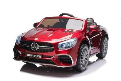 AUTO ELETTRICA PER BAMBINI Mercedes SL 65 12v 2 POSTI CON TV TOUCH  SCREEN  CON VERNICE METALLIZZATA PRODOTTO UFFICIALE