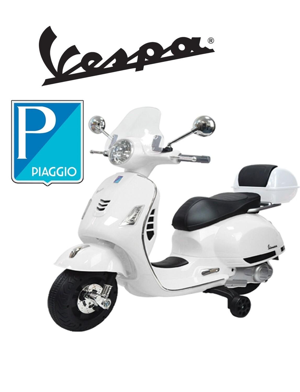 MOTO MOTOCICLETTA ELETTRICA PER BAMBINI Vespa Gts Piaggio 12v PRODOTTO UFFICIALE