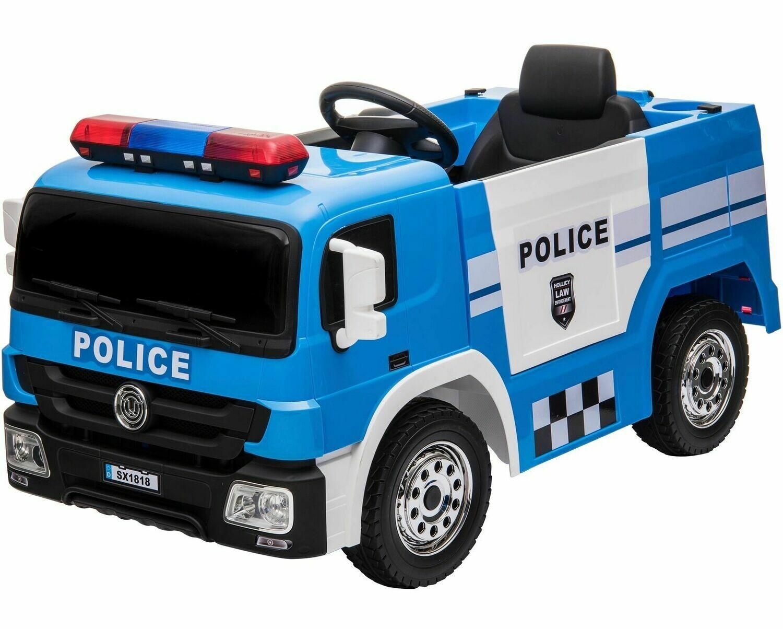 AUTO MACCHINA ELETTRICA PER BAMBINI Camion Police (POLIZIA)  12v