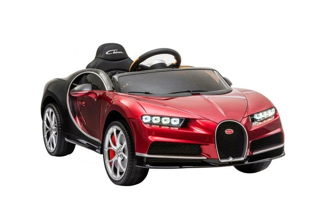 AUTO MACCHINA ELETTRICA PER BAMBINI Bugatti Chiron 12v PRODOTTO UFFICIALE