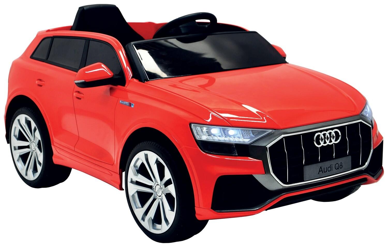 AUTO MACCHINA ELETTRICA PER BAMBINI Audi Q8 12v CON TV e VERNICE METALLIZZATA PRODOTTO UFFICIALE (FULL OPTIONAL)