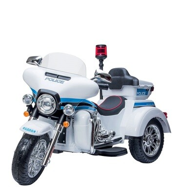 MOTO MOTOCICLETTA ELETTRICA PER BAMBINI Moto Police Newyork  12v