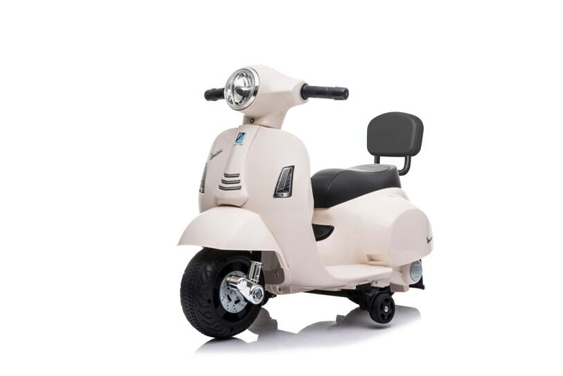 MOTO MOTOCICLETTA ELETTRICA PER BAMBINI MINI VESPA Primavera PIAGGIO 6v PRODOTTO UFFICIALE