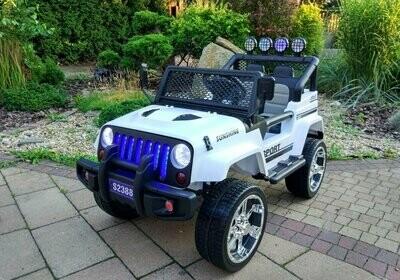AUTO MACCHINA ELETTRICA PER BAMBINI Modello Jeep Sport 12v 4x4 (Deluxe) 2 posti